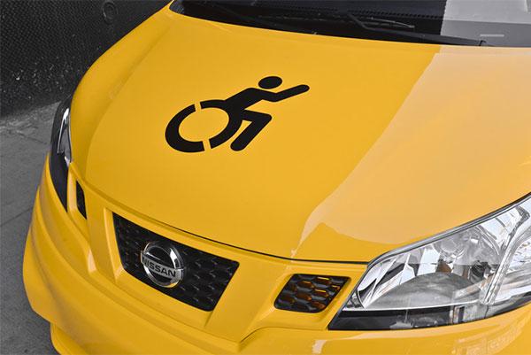 capot taxi accessible