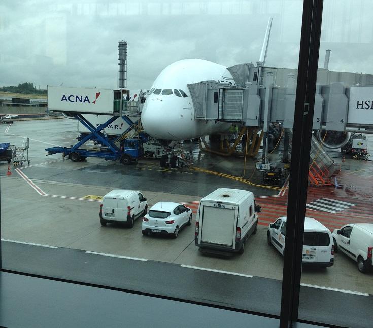 Salle d'attente A380