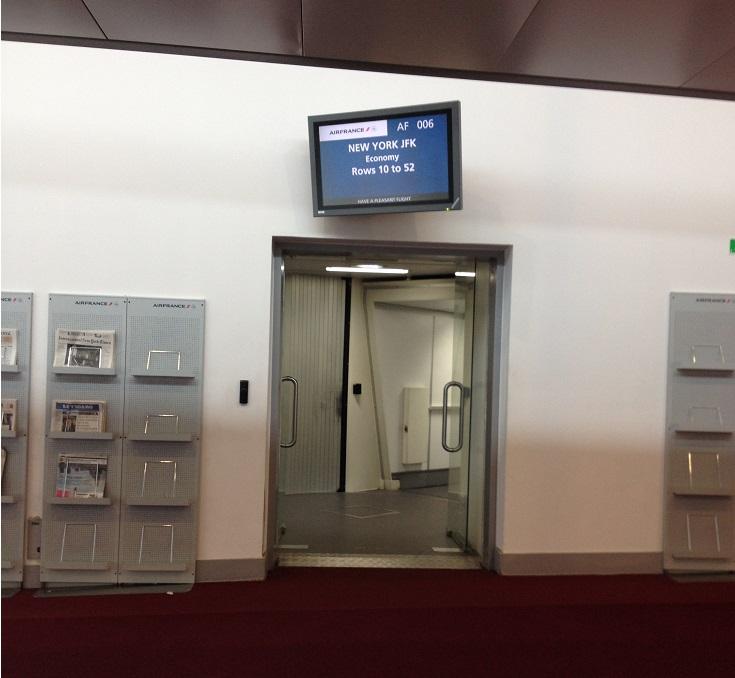 Couloir embarquement A380