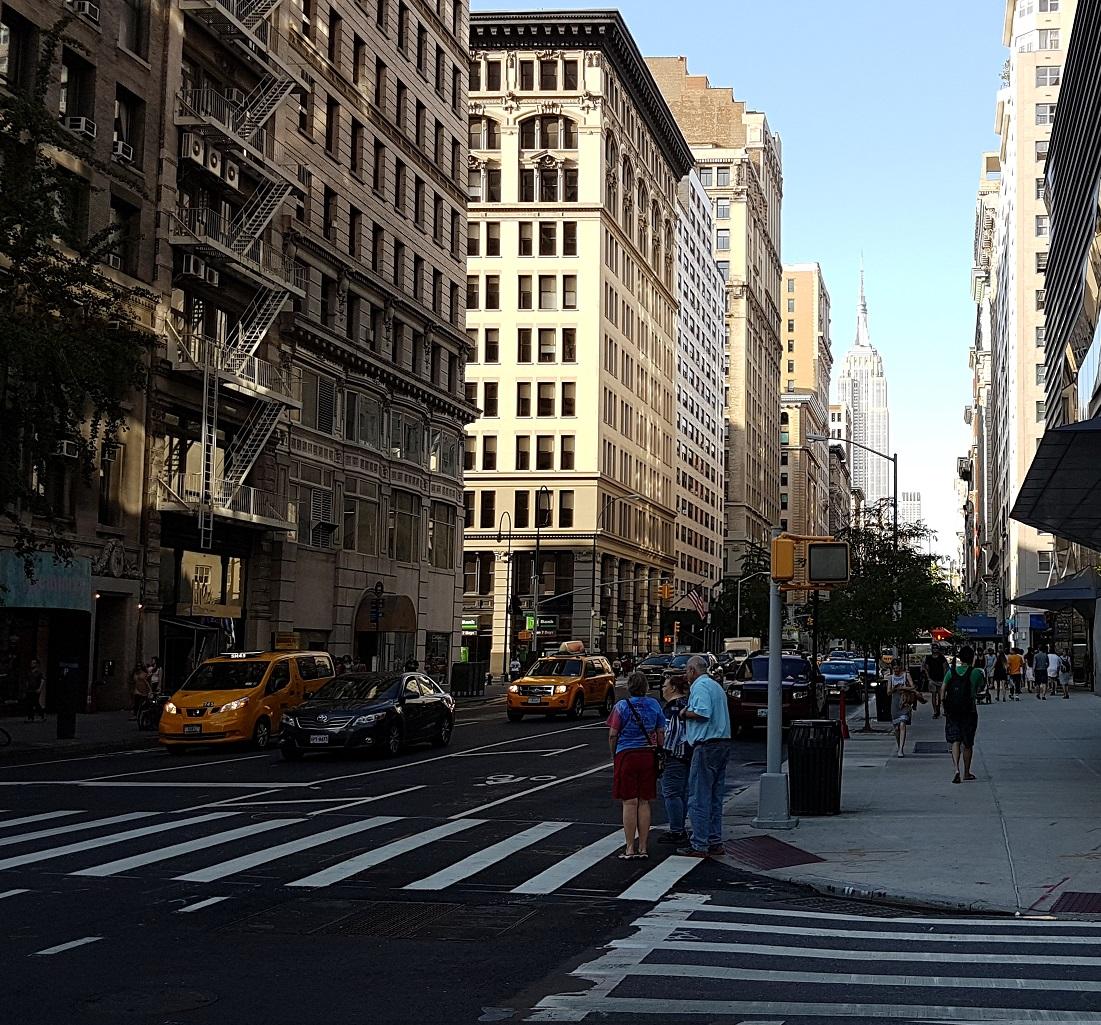 vue depuis la 5ème avenue