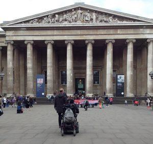 Entrée du British Museum